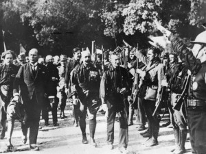 De Mars op Rome 27 oktober 1922