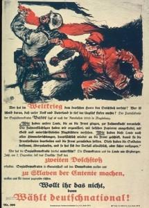Dolkstootlegende einde eerste wereldoorlog