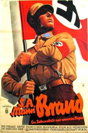 Sturmabteilung (SA) Propaganda SA mann Brand