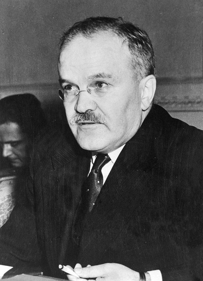 Vyacheslav Mikhaylovich Molotov (1890 – 1986)