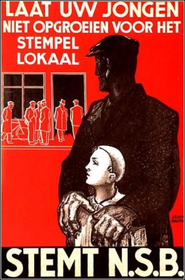 NSB Propaganda Poster
