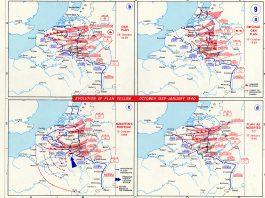 Kaart aanval lage landen