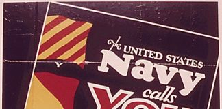Wervings poster US NAVY