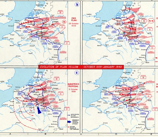The Manstein Plan was the primary war plan of the German Army during the Battle of France in 1940.