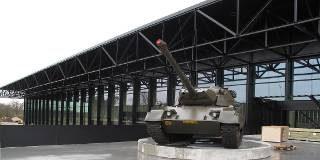 Leopard 1V als poortwachter voor het NMM