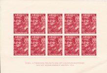 p 1 november 1942 verschenen twee postzegels met toeslag ten bate van het legioen, de zogeheten Legioenzegels. Zegel in blok 7 1/2 cent en een toeslag van 2 1/2 cent. Voor de uitrusting van het Nederlands Legioen.