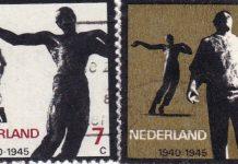 """De Dokwerker"""" van de kunstenaar Mari Andriessen en Het bronzen beeld """"De Verwoeste Stad van Ossip Zadkine."""