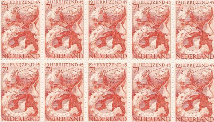 Bevrijdingspostzegel 1944/1945 Nederland